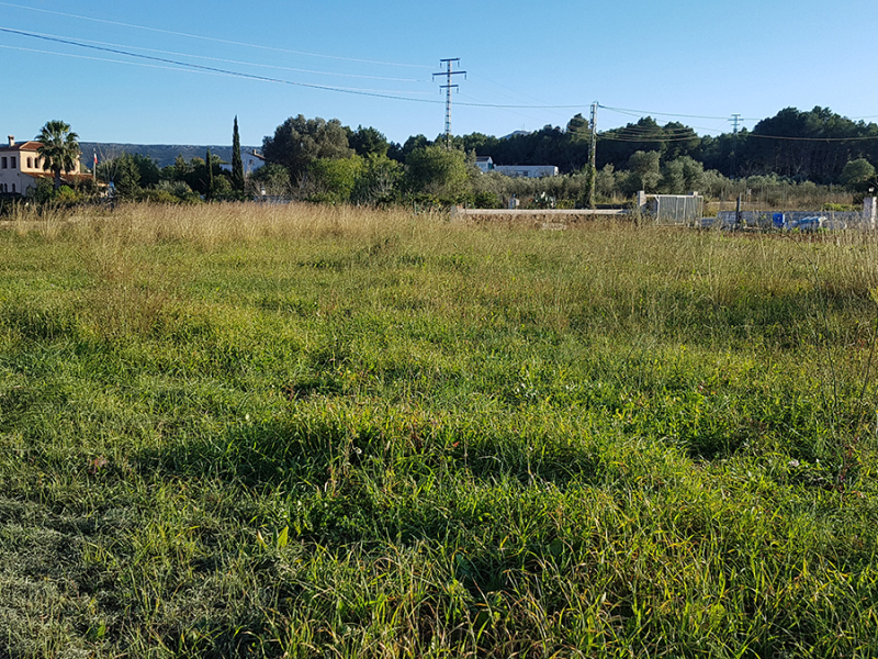 Javea building plot for sale