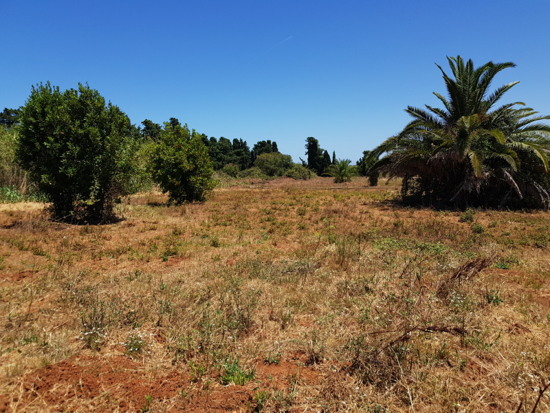 Large building plot close to the beach