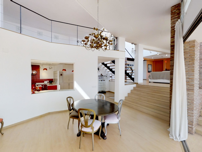 """Superb luxury villa for sale in Javea in the urbanization """"La Corona""""."""