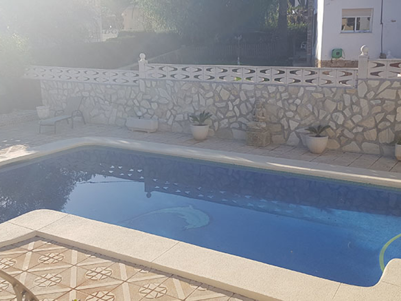 Spacious villa in Galerettes, Denia