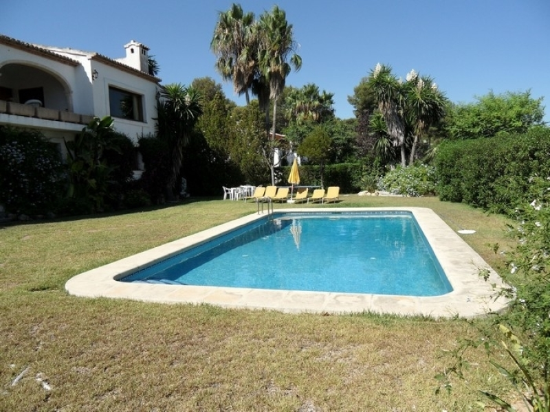 Villa with sea views for sale in Javea Tosalet Costa Blanca