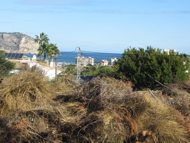 Plot for sale in Javea Adsubia Costa Blanca, Spain