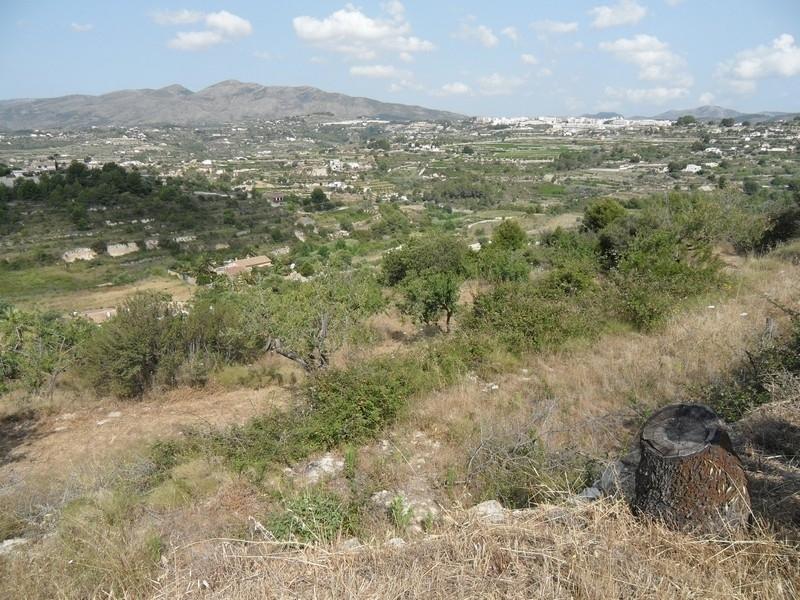 Big plot for sale in Benissa Ptda Llenes Costa Blanca, Spain