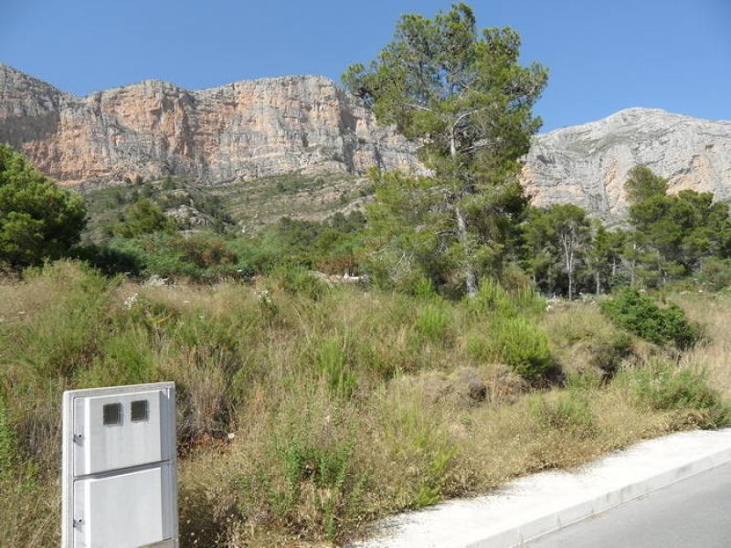Plot for sale in Javea Montgo Costa Blanca, Spain