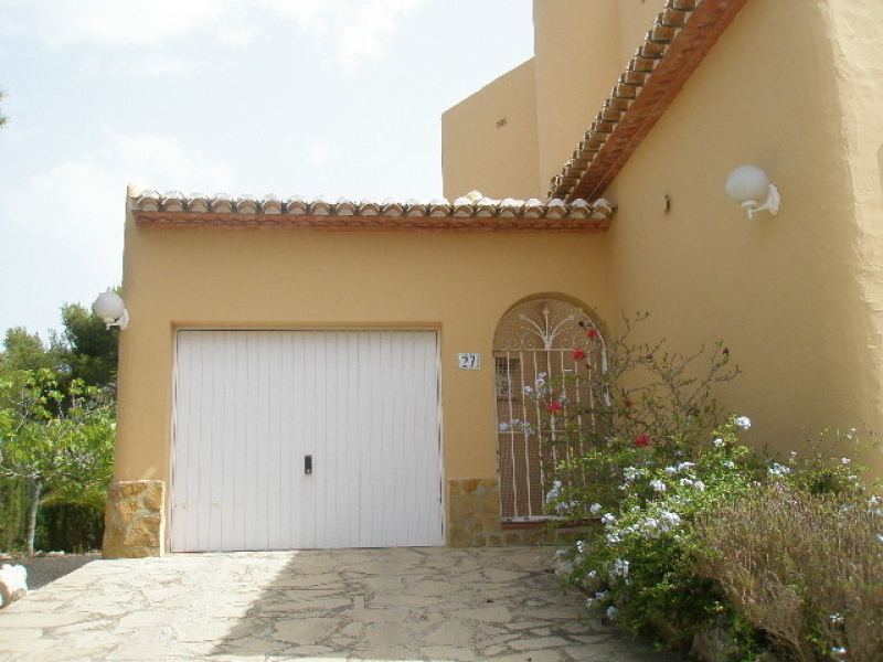 Sea view villa on flat plot for sale in Javea Granadella Costa Blanca, Spain