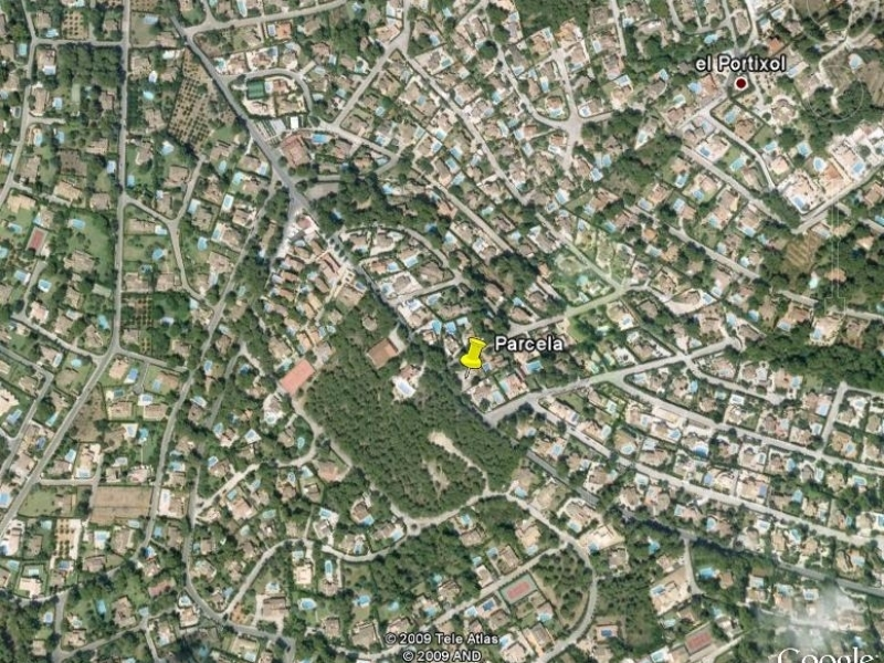 Plot close to Arenal for sale in Javea El Toscal Costa Blanca, Spain