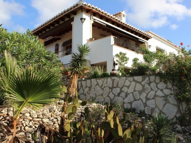 Villa on 1 level for sale in Javea Rafalet Costa Blanca, Spain
