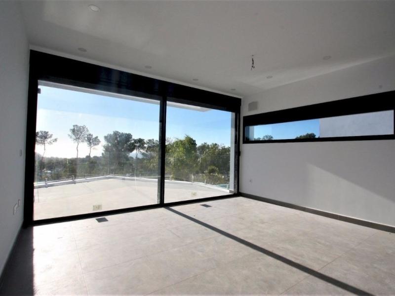 modern style villa for sale in Moraira Camarocha Costa Blanca, Spain