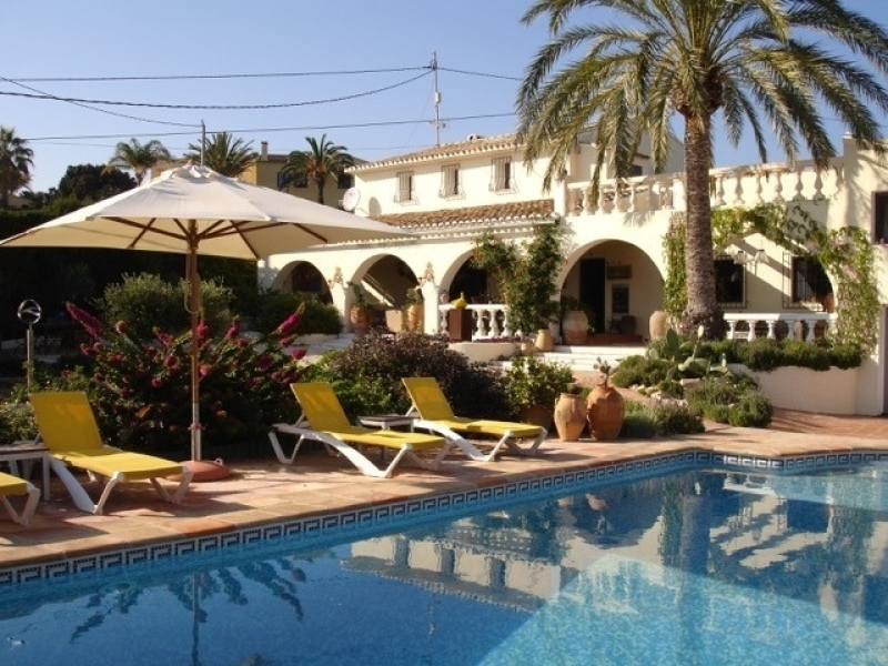 Spectacular villa with sea views for sale in Benissa Benimarraig Costa Blanca, Spain